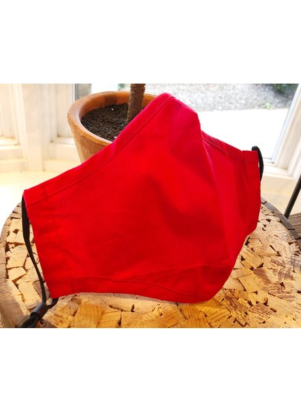 Top It Off Red Adult Face Mask