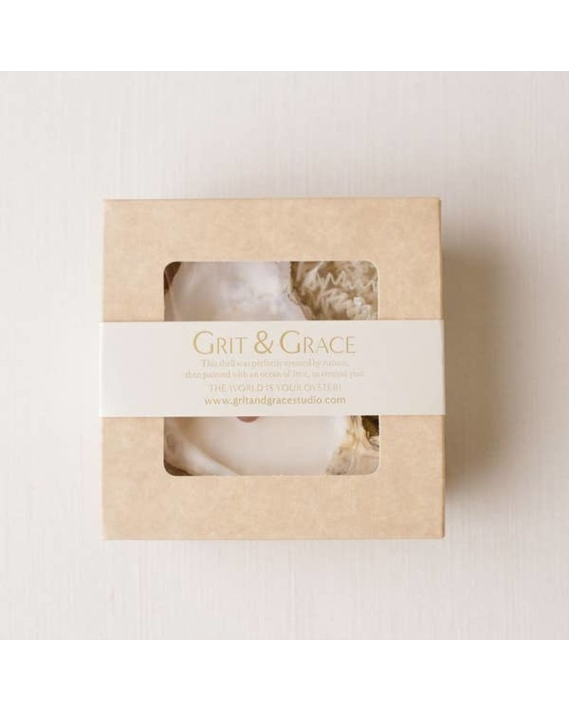 Grit & Grace Studio Oyster Shell Candle