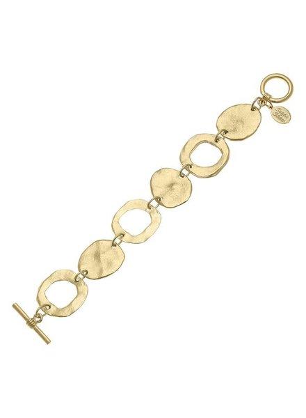 Susan Shaw Gold Toggle Bracelet