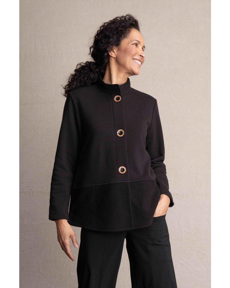 Habitat Black Stand Collar Pocket Jacket