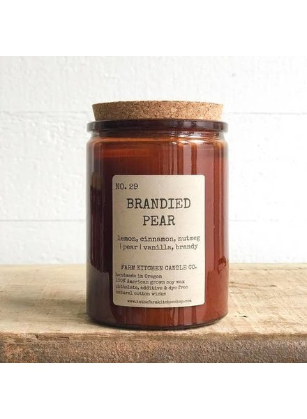 Farm Kitchen Candle Co. Brandied Pear Farm Kitchen Candle