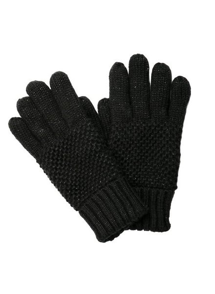 Top It Off Reese Black Gloves
