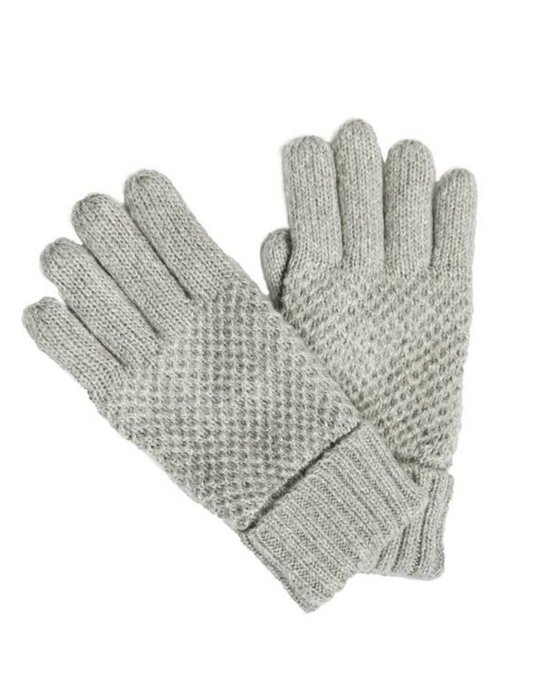 Top It Off Reese Grey Gloves