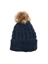 Top It Off Emma Navy Hat