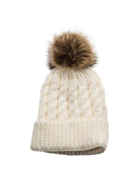 Top It Off Emma Cream Hat