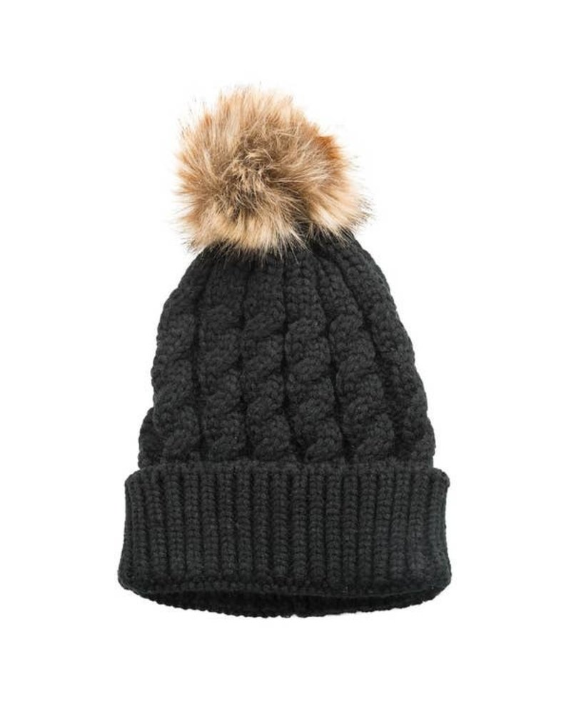 Top It Off Emma Black Hat