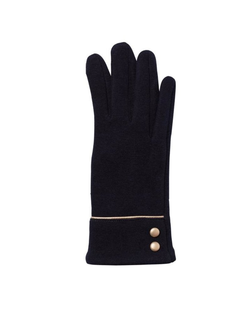 Top It Off Felicity Black Gloves
