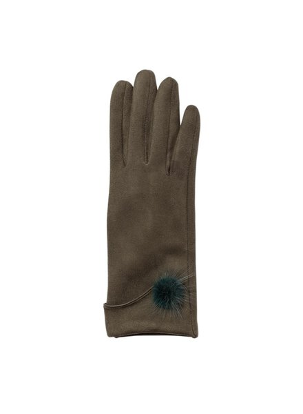 Top It Off Jackie Gloves - Hunter