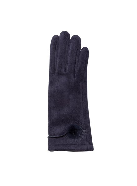 Top It Off Jackie Gloves - Navy