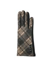 Top It Off Parker Camel Plaid Gloves