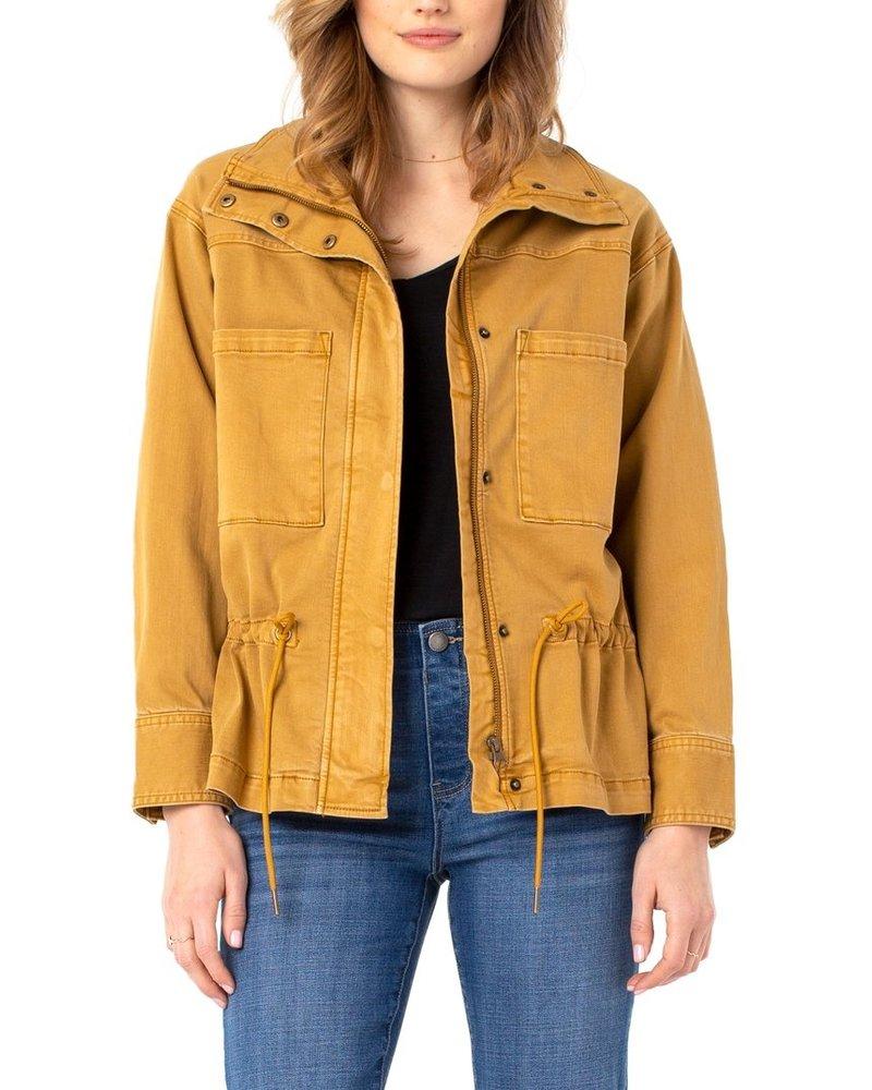 Liverpool Honey Zip Front Anorak Jacket