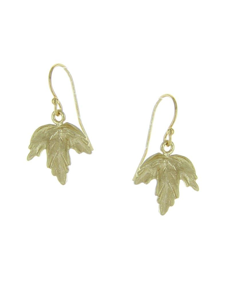 Takobia Gold Maple Leaf Earring