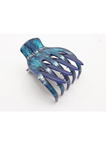 Medusa's Heirlooms Blue Wonderland Large French Yoga Claw