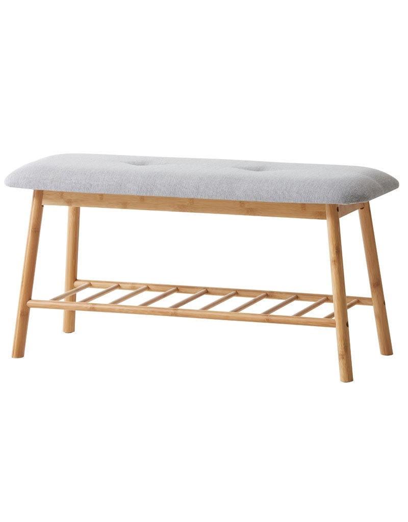 Peachy Bamboo Bench Storage Inzonedesignstudio Interior Chair Design Inzonedesignstudiocom