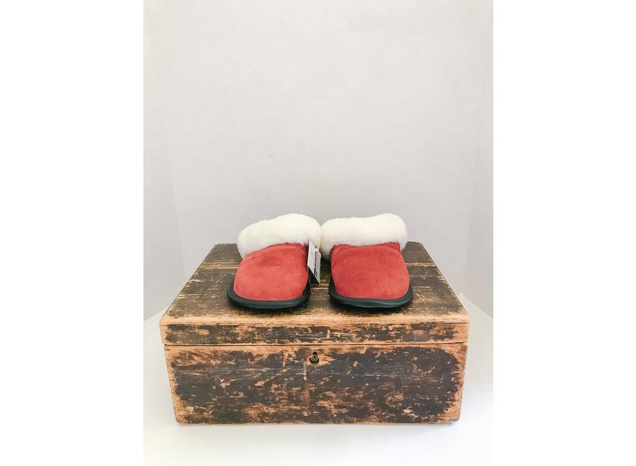 Sheepskin Slip On Cuffed Ladies Slippers
