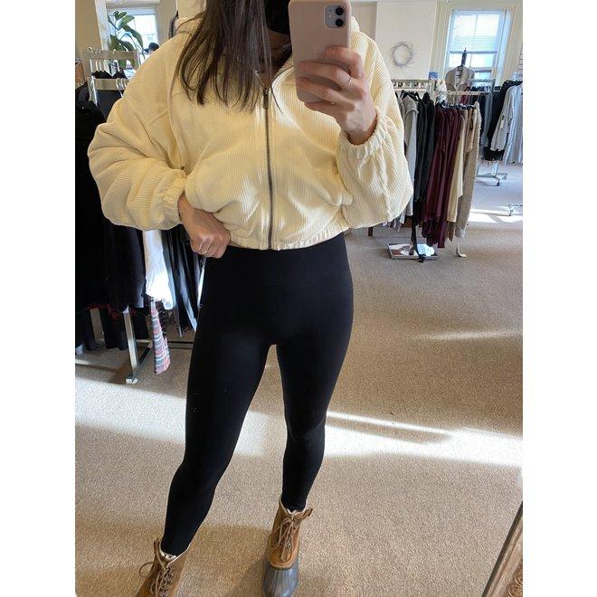 Claudia Bamboo Leggings Fleece Lined