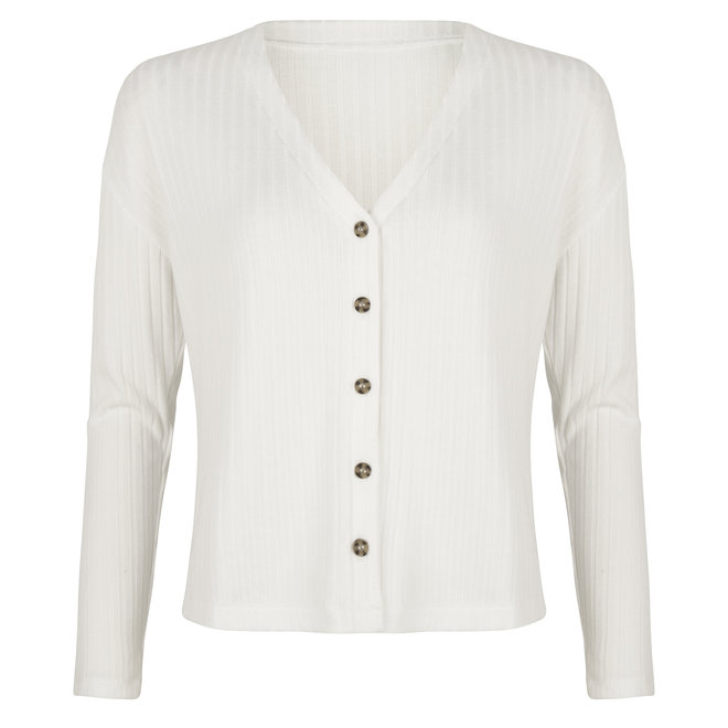 Lucy Ribbed Cardigan