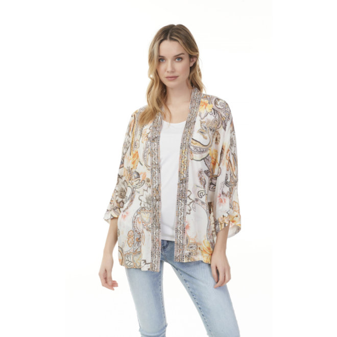 Clara Embroidered Top