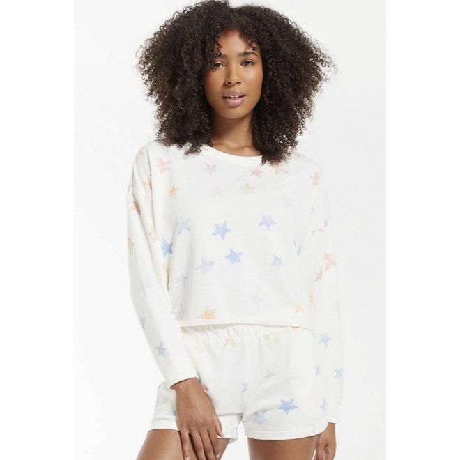 Rainbow Star Sweatshirt
