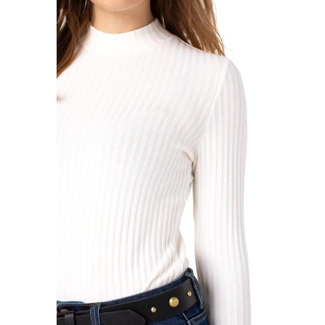 Cherie L/sleeve Mock