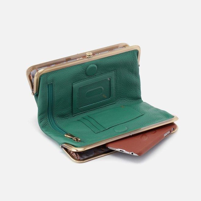Garden Green Lauren Wallet