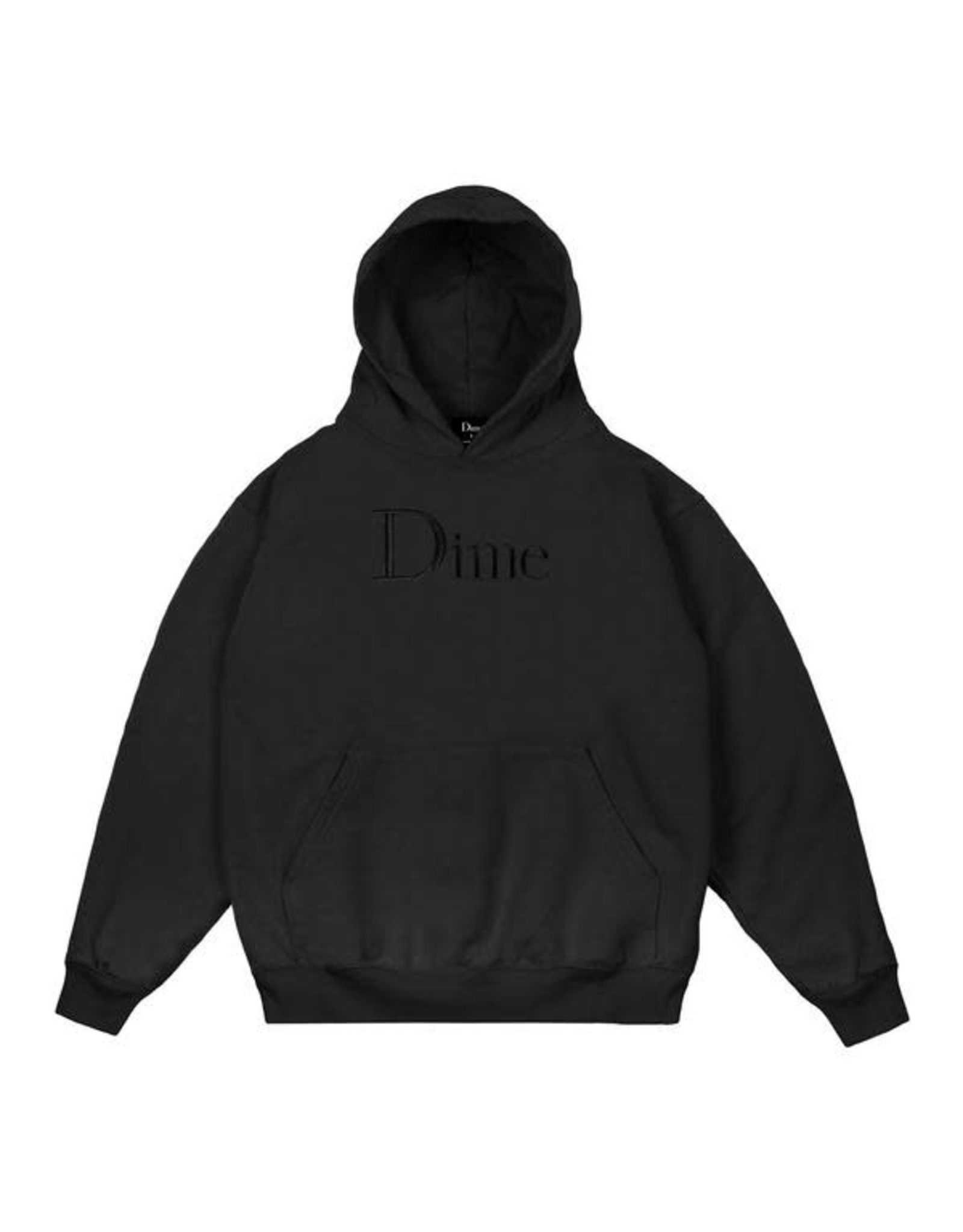 DIME Dime classic logo embroidered hoodie