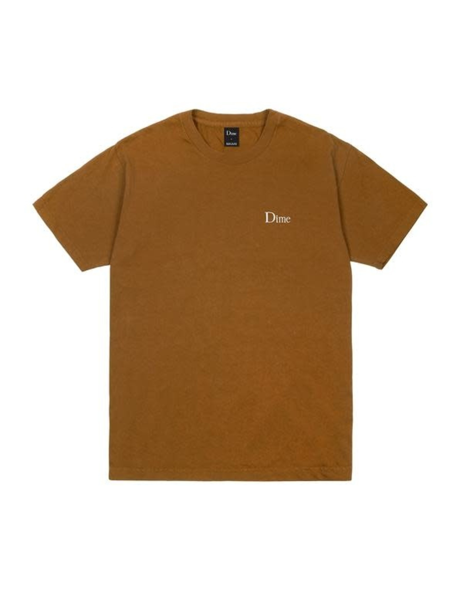 DIME Dime classic logo embroidered t-shirt