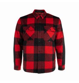 HOOKE Canadian wool shirt red & black plaid