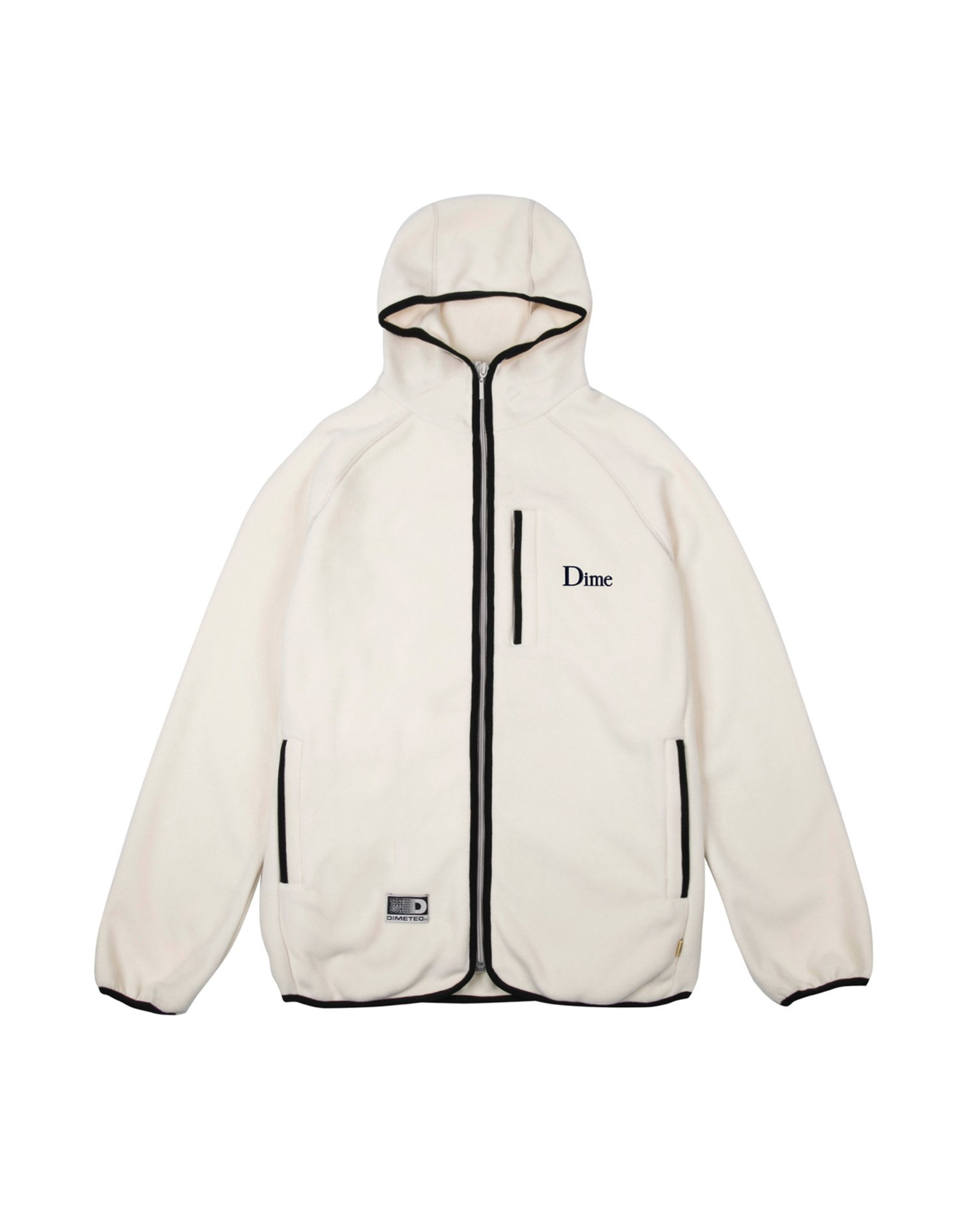 DIME Polar fleece hooded jacket