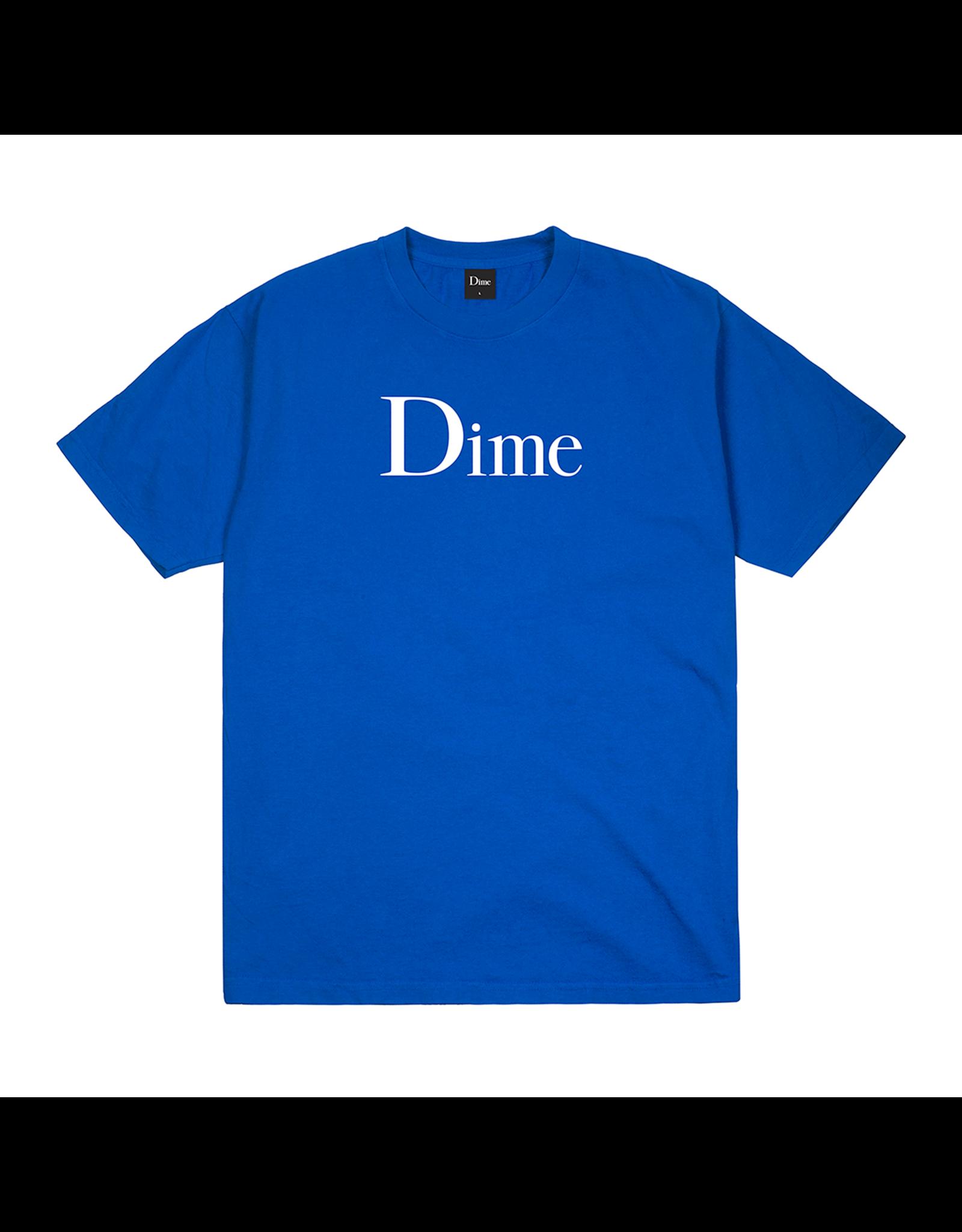 DIME DIME T-SHIRT COBALT