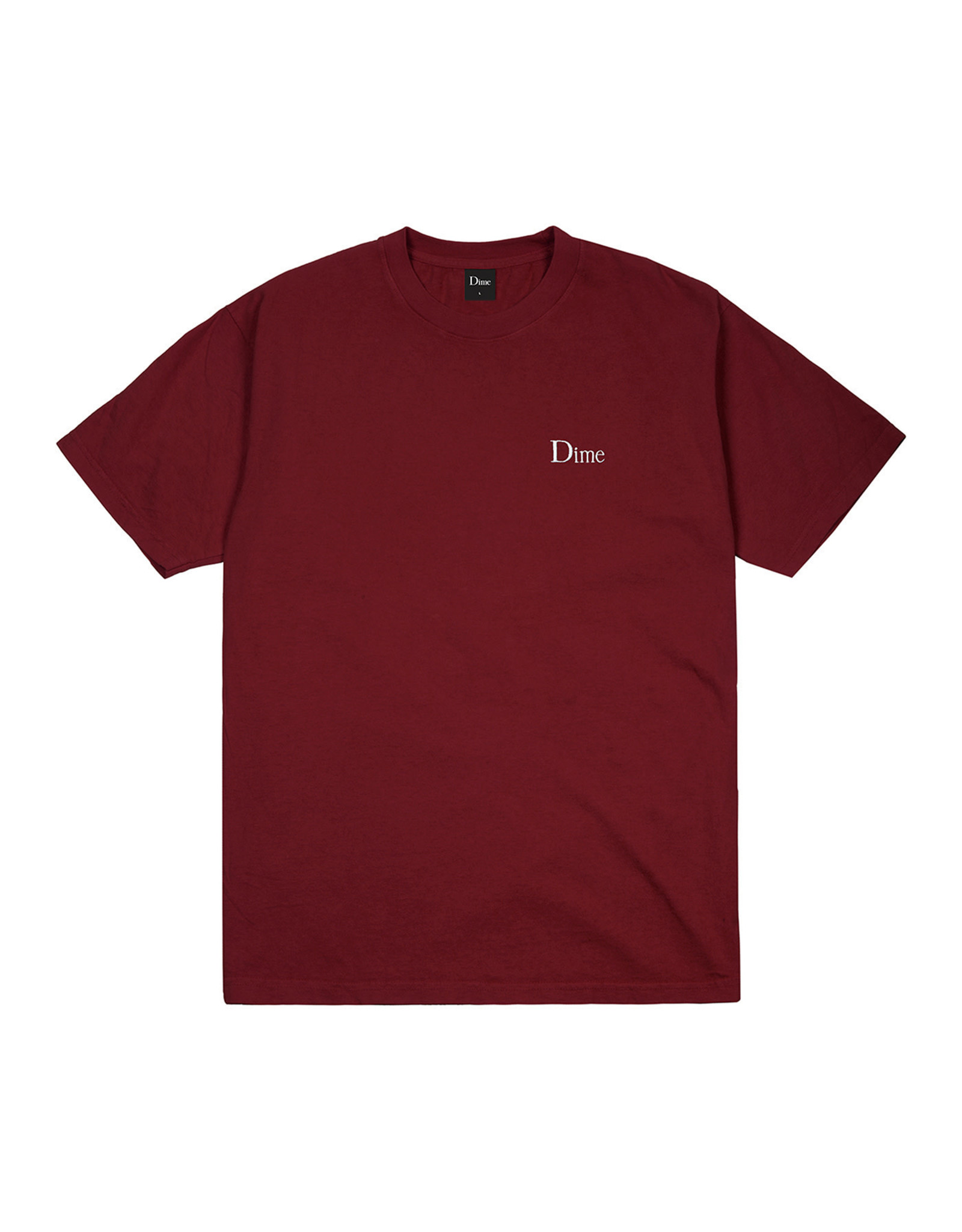 SMALL LOGO TEE RUBY