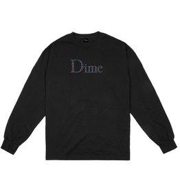 DIME L/S SCRIBBLE BLACK