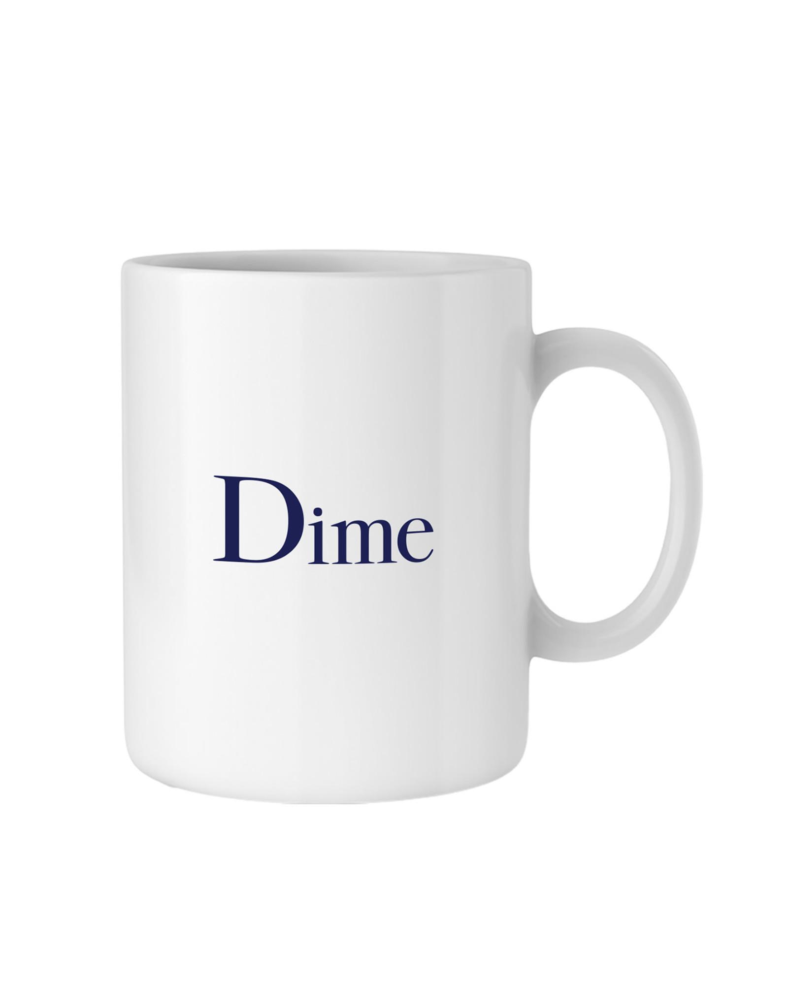 DIME WHITE MUG