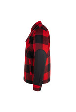 HOOKE Canadian wool shirt red & black plaid