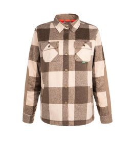 HOOKE Women's trapper wool shirt