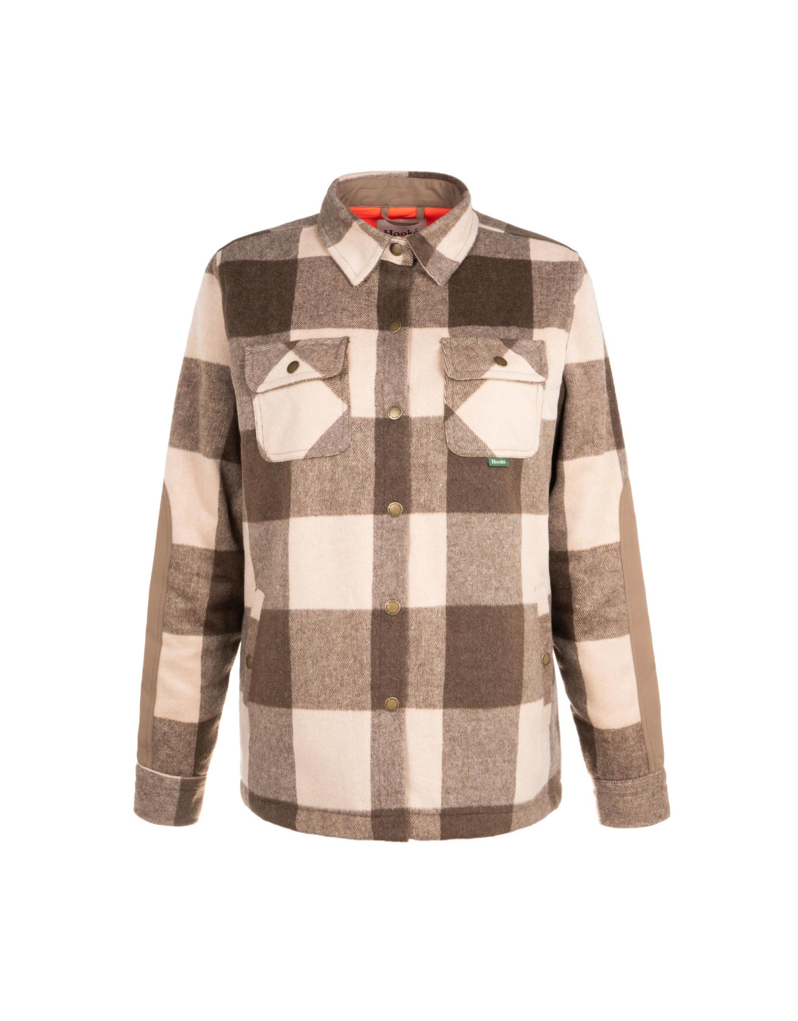 HOOKE Women's trapper wool shirt