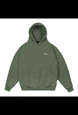 DIME DIME small logo hood olive
