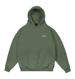 DIME DIME small logo hood olive