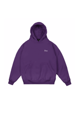 DIME DIME small logo hood purple
