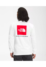 NORTHFACE Box l/s white