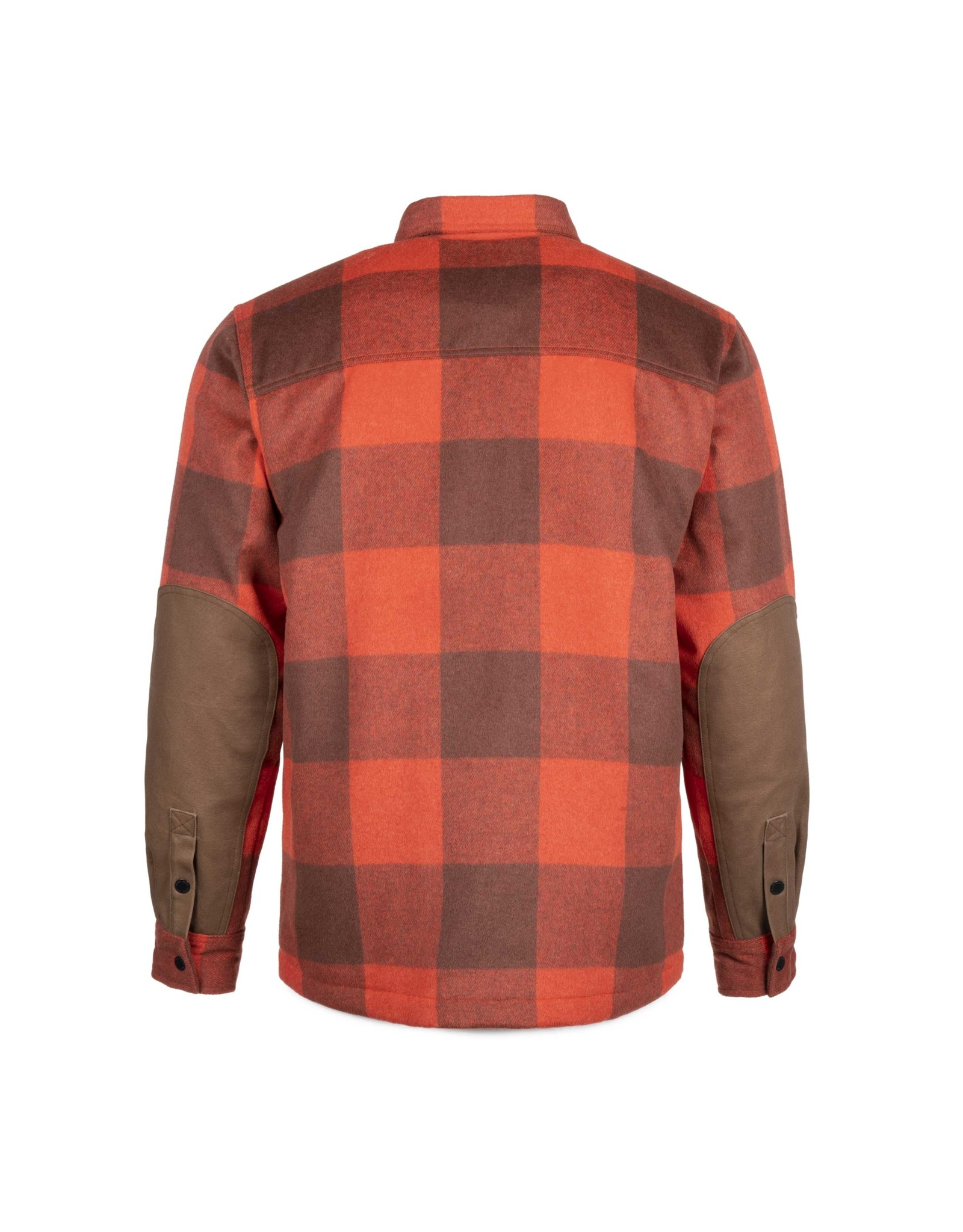 Canadian Wool Shirt Red & Camel