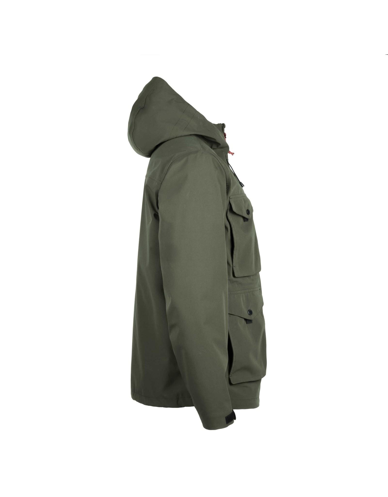 HOOKE Matapedia Rain Jacket Olive