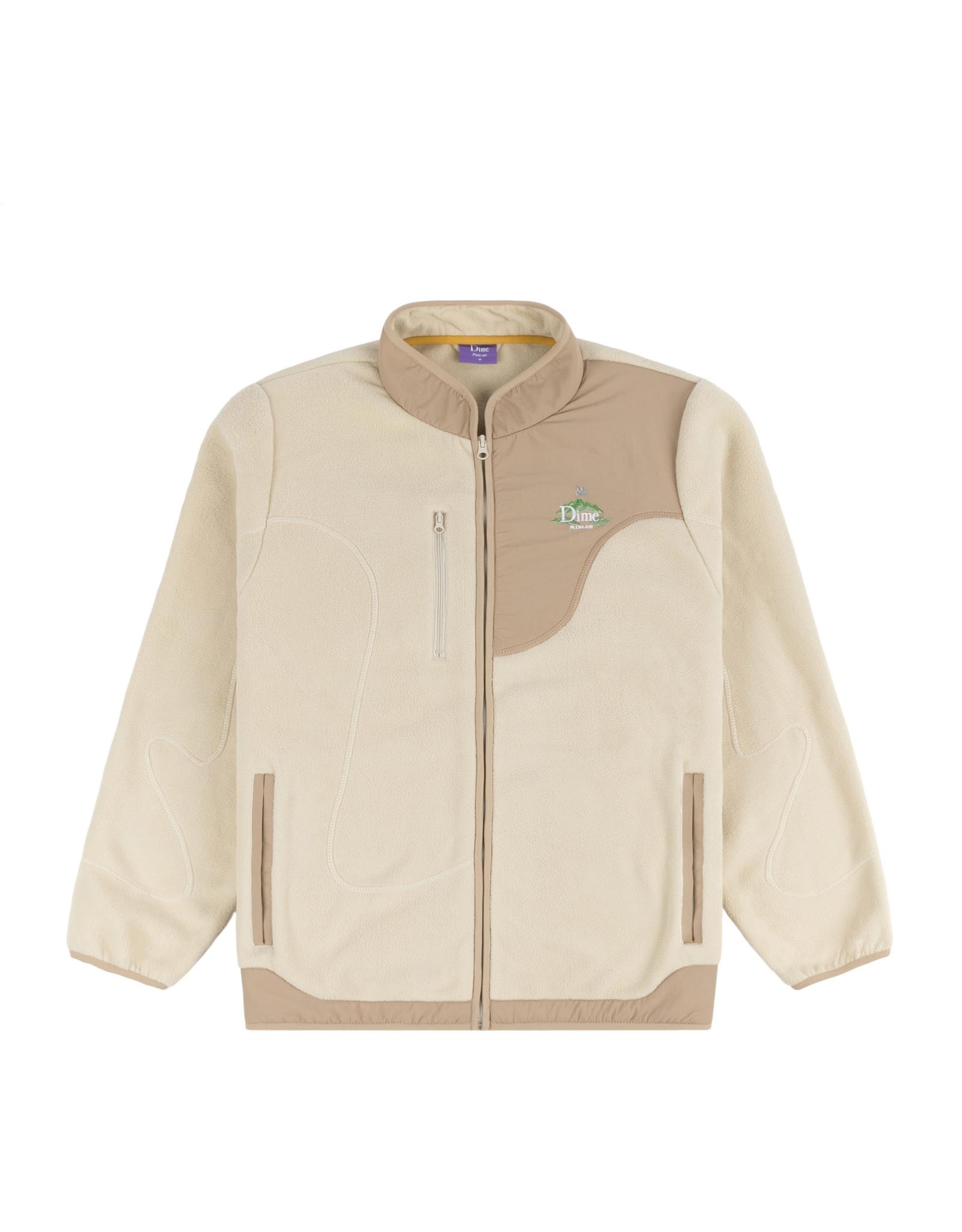 DIME Plein air polar fleece jacket cream