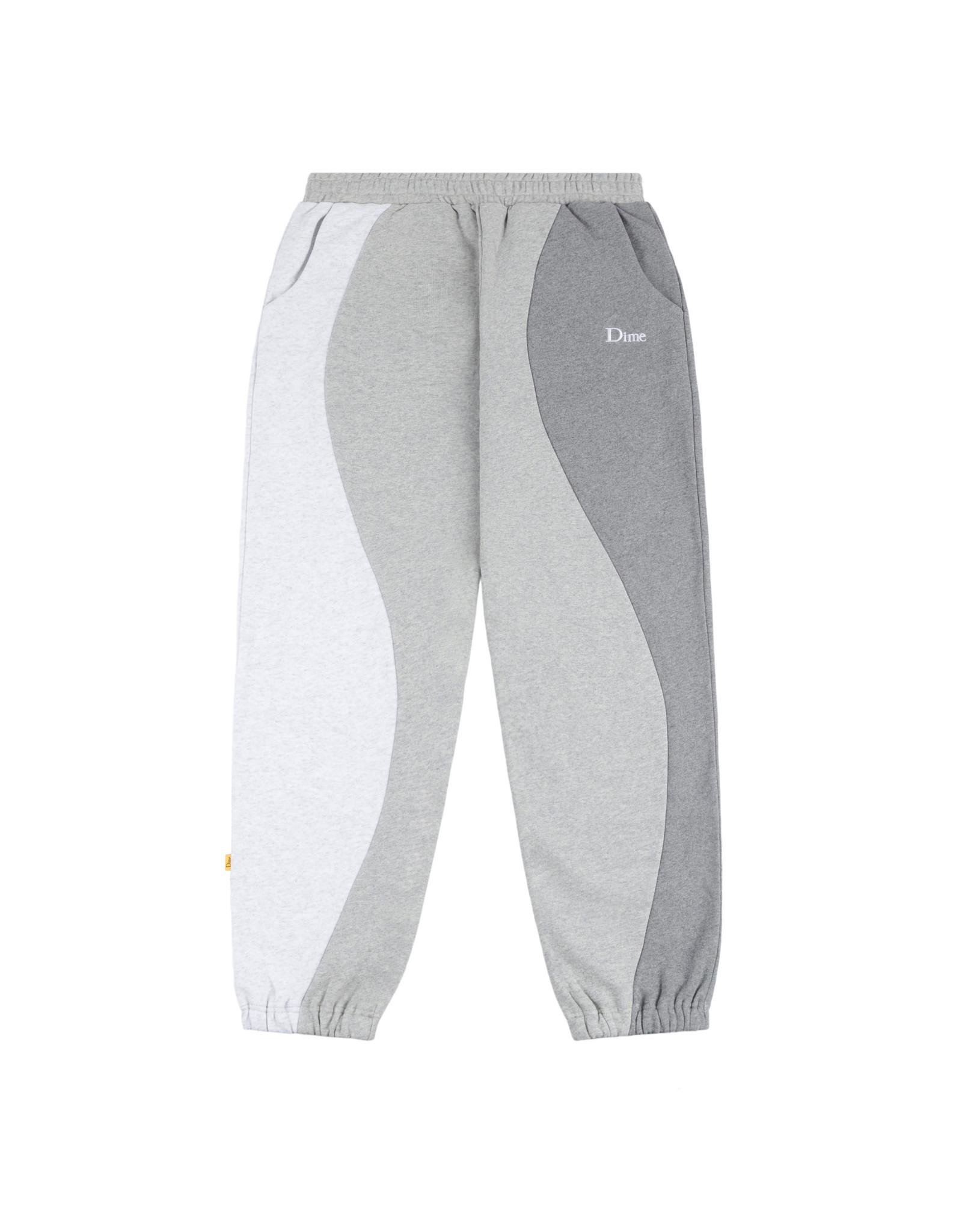 DIME Wavy 3-tone sweatpants