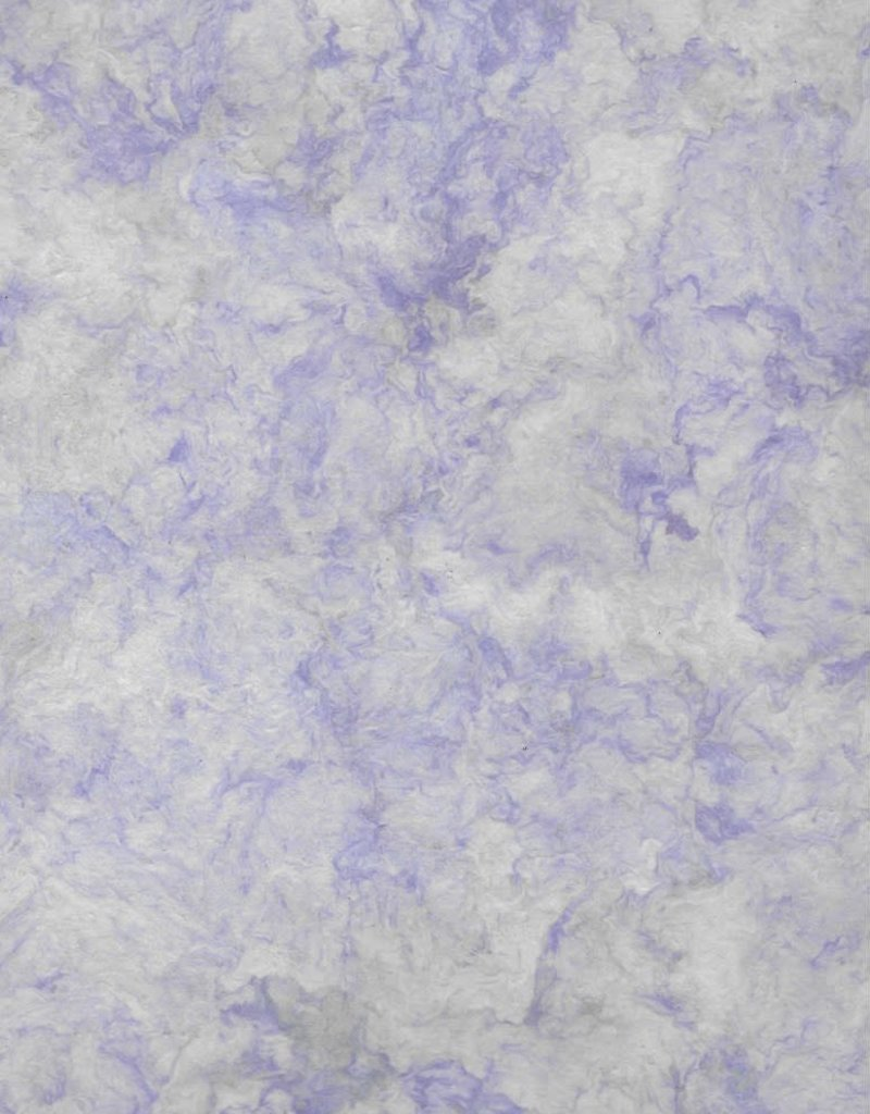 """Mexico Amate Paper Lilac, 15"""" x 23"""""""