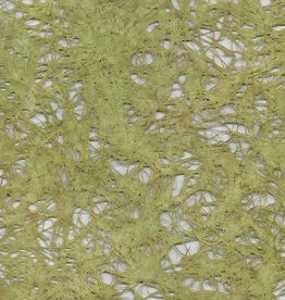 "Amate Lace Yellow Green, 15"" x 23"""