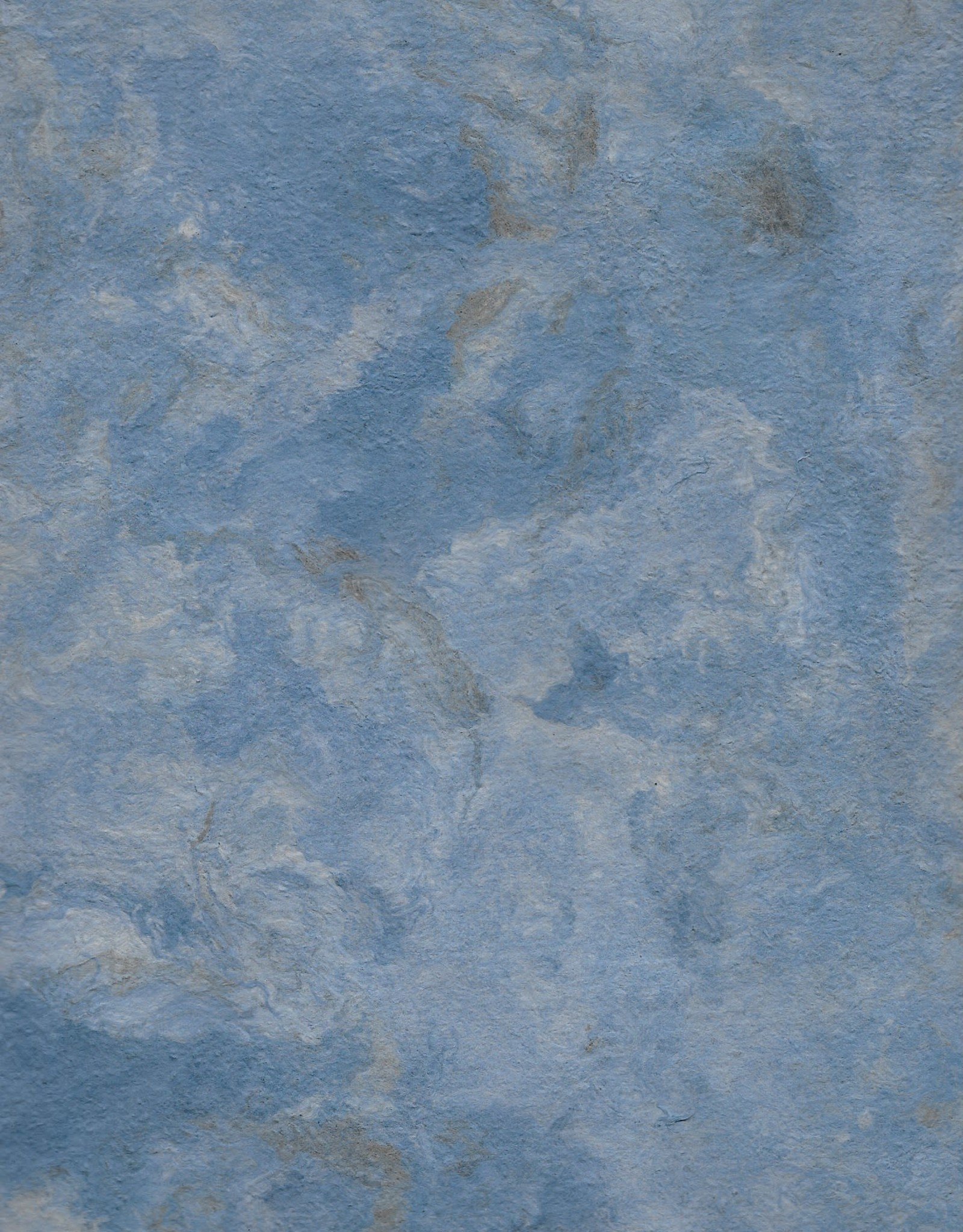 "Amate Paper Dark Blue, 15"" x 23"""