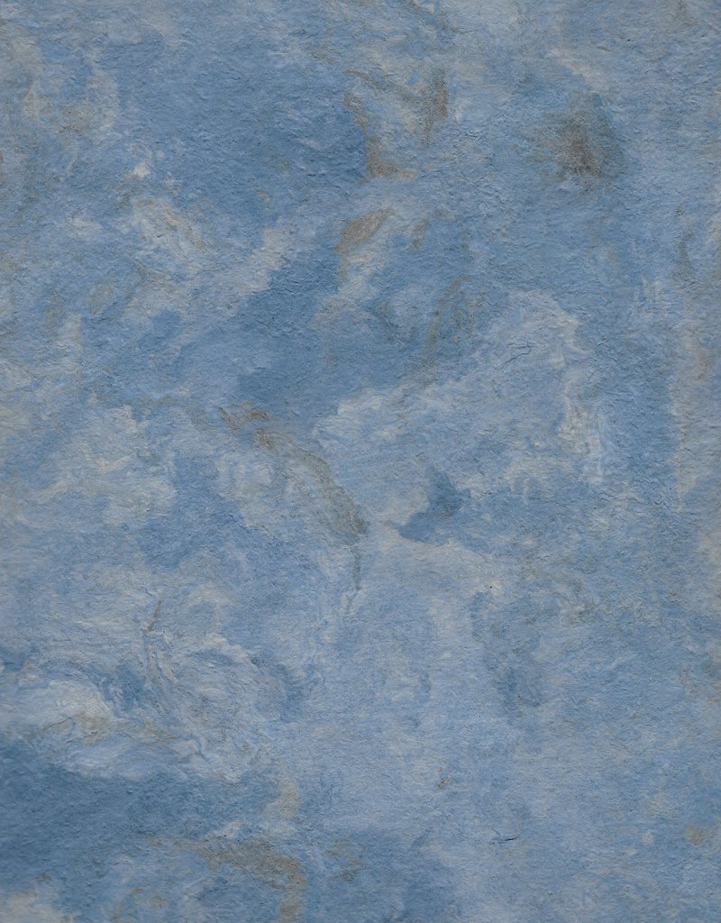 "Amate Paper Dark Blue, 15"" x 23"""