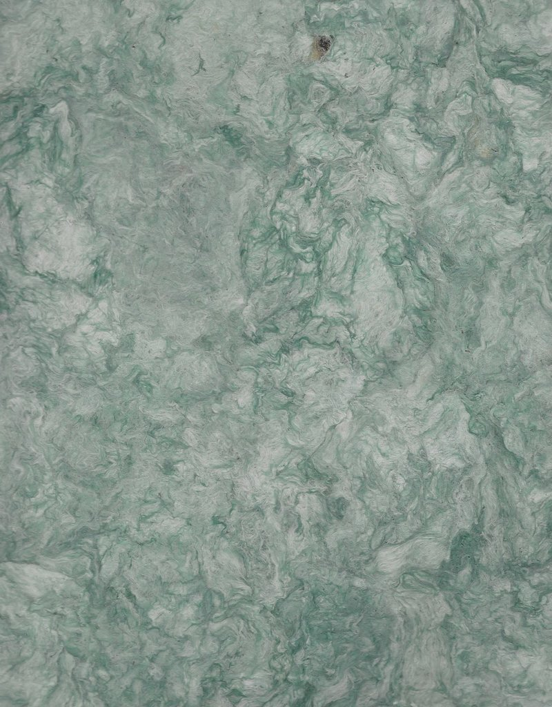 "Amate Paper Teal Green, 15"" x 23"""