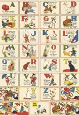 "Cavallini ABC Vintage, Poster Print, 20"" x 28"""